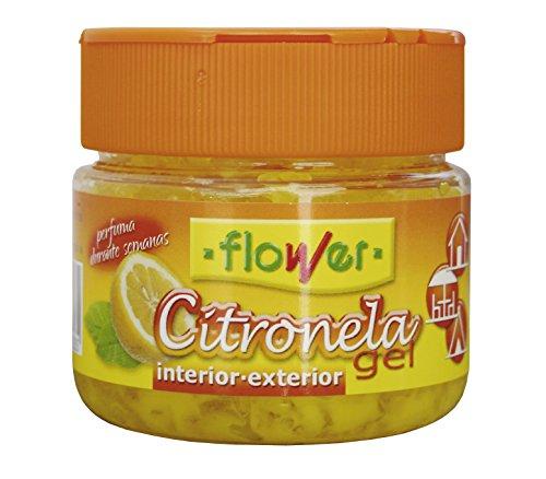 Flower 1-20523 - citronela Repelente de Mosquitos Gel, 125 gr