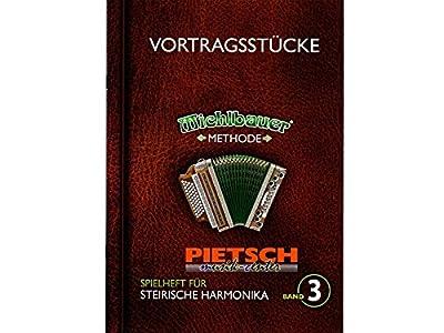 Michlbauer Musikverlag, Spielheft für die Steirische Harmonika Band 3, Michlbauer Methode - Vortragsstücke