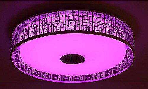 Zzh Intelligente Bluetooth Musik Kinder Deckenleuchte LED Dimmen Und Färben Wohnzimmer Lampe Schlafzimmer Lampe Mobile APP Deckenleuchte