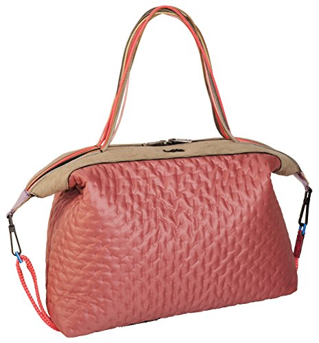 Bauletto Bag L4K3 QUEEN LAKE Quilted Pastel Rose
