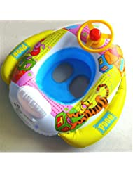 VLUNT Anneau Svitting tente Piscine pour Baba gonflable Seat Svitting Safa Float Raft (2-5 Old CPEA)