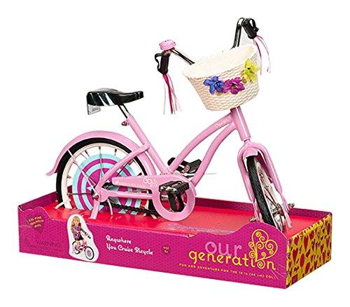 Our Generation - 44495 - Vélo - n'Importe où Votre Croisière - pour Poupées 0062243253186