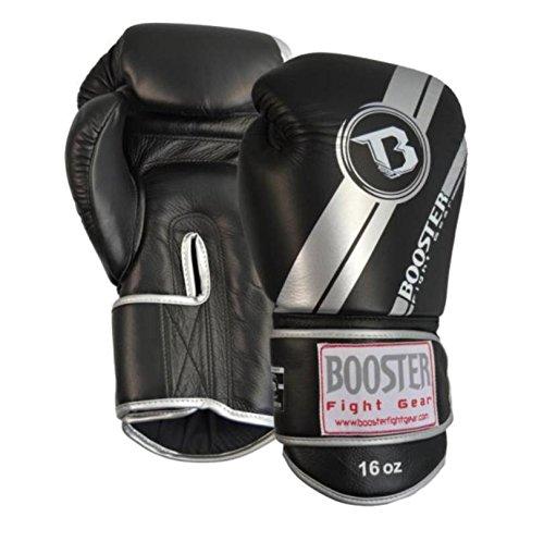 BOOSTER Boxhandschuhe PRO V3 Leder, silber, 12 OZ
