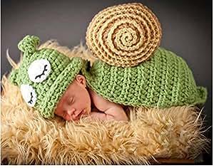 jastore foto fotografie prop baby kost m gr ne schnecke h kel stricken handarbeit baby. Black Bedroom Furniture Sets. Home Design Ideas