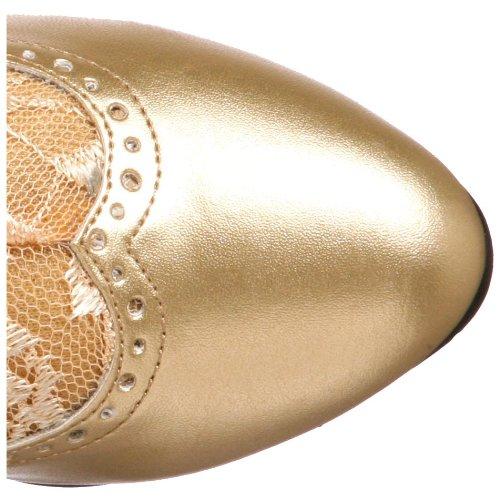 Pleaser - Dame115 / B / Pu, Bottes Pour Femme Gold (gold)