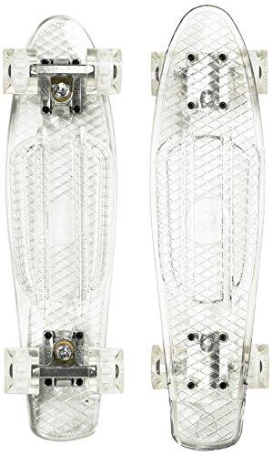 Ridge Skateboard Blaze Mini Cruiser , klar/weiß, 55 cm