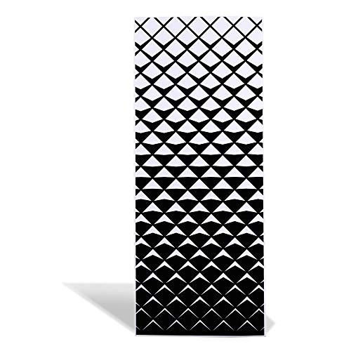 banjado Design Magnettafel 75x30cm groß | Memoboard mit Magneten | Metall Pinnwand magnetisch | Magnetboard mit Motiv Schattierung | Magnetwand für Küche, Büro oder Kinderzimmer