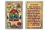 DMtse Feng Shui Five Dzambhala Deity Talisman Amulette Carte Richesse