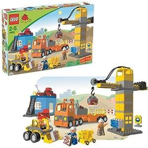 duplo jeux de construction le chantier de construction jeux et jouets. Black Bedroom Furniture Sets. Home Design Ideas