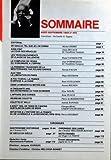 HISTORIA N? 453 du 01-08-1984 SOMMAIRE - EDITORIAL - DE GAULLE TEL QUE JE L'AI CONNU PAR MICHEL DEBRE - AINSI FINIT LA COUR DES MIRACLES PAR ALAIN DECAUX - LES TROIS ENLEVEMENTS DE CLAUDE DE SALLENOVE PAR RAOUL VANHOUTTE - LE COMPLEXE DE CESAR DU 18 BRUMAIRE A L'EMPIRE PAR JEAN D'ORMESSON - LA PREMIERE TRAVERSEE DE LA MEDITERRANEE PAR ROLAND GARROS PAR PATRICK FACON - AOUT 1944 LA LIBERATION DE PARIS PAR MAJA DESTREM - A FOU TCHEOU LA FRANCE S+?OPPOSE A LA CHINE PAR RENE GUILLEMIN - DANS LA M...