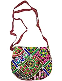 Ratnatraya Ethnic Women's Traditional Jaipur Colorful Designer Handicrafts Hand Bags For Mother, College Girls...
