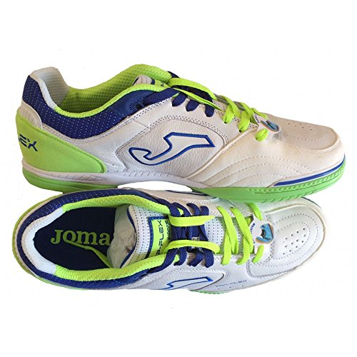 SCARPE CALCETTO JOMA TOP FLEX 511 INDOOR WHITE-FLUOR N.42.5