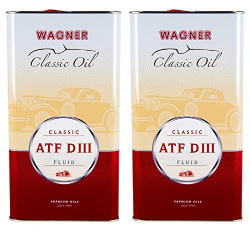 2X Wagner SPEZIALSCHMIERSTOFFE Automatik-Getriebeöl Classic ATF DIII 5 L Liter