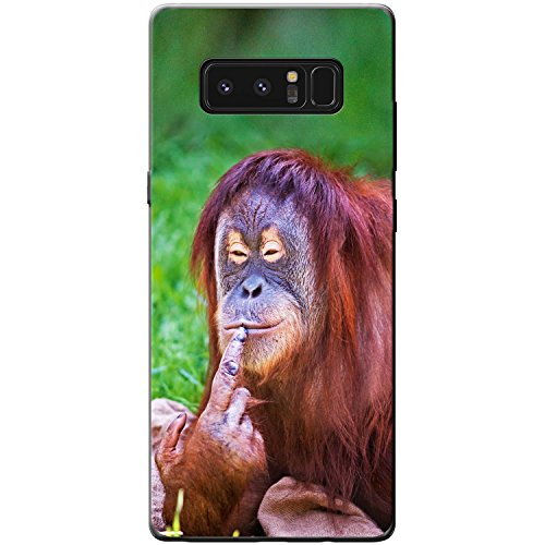 Price comparison product image Female Orang-utan Having A Thought Hard Case For Samsung Galaxy Note 8
