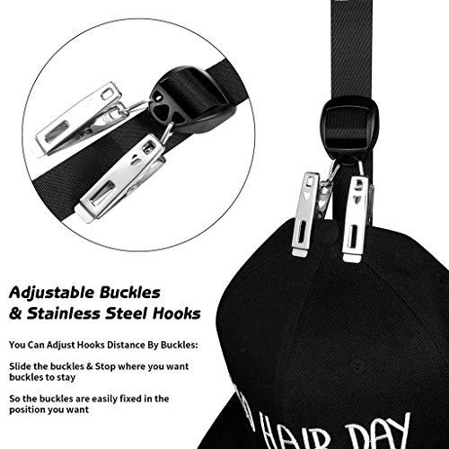 Imagen de ogquaton nueva  de béisbol rack hat holder rack organizador para el hogar storage door closet hanger hat rack de almacenamiento alternativa