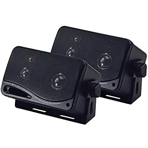 COUPLE OF BLACK BOXES BLACK BASS FACE SPLBOX.1 BASS REFLEX FROM 15,00 CM IN 3 WAY FROM 200 WATT RMS AND 400 WATT MAX IN PAIR FOR INSIDE AND OUTSIDE CAR CAMPER HOME OR LOCAL COMMERCIAL AS RESTAURANT PUB CAFE HOTEL PARTY KARAOKE