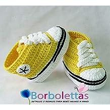 converse neonato gialle
