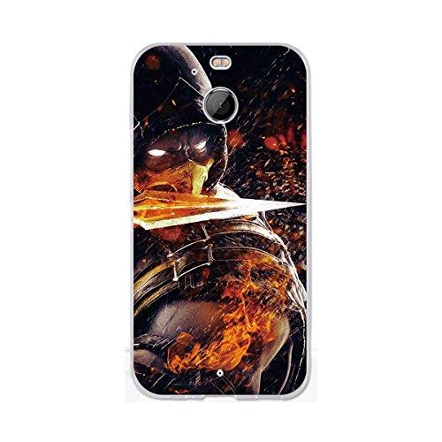 HTC Bolt Hülle, HTC 10 Evo Hülle, Gift_Source [ Messer Krieger ] Ultra Dünn schützt Hülle Flexiblen Silikon Schutz Hülle TPU Etui Bumper Handyhülle Cover Anti-Kratzer Schutzhülle Tasche für HTC Bolt/10 Evo