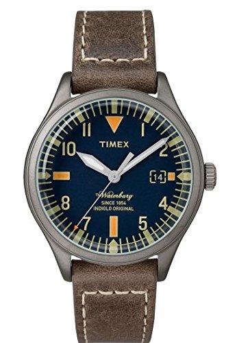 ddc468224092 Timex Reloj Analogico para Mujer de Cuarzo con Correa en Cuero TW2P84400