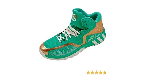 quality design cae0c b16eb adidas Performance Scarpa Basketball D Howard 6 Verde D69541 Amazon.it  Sport e tempo libero