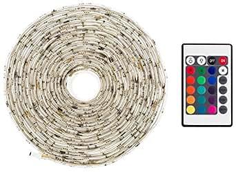 m ller licht 400092 led strip rgb mit fernbedienung plastik 24 watts wei 21 x 2 x 22 5 cm. Black Bedroom Furniture Sets. Home Design Ideas