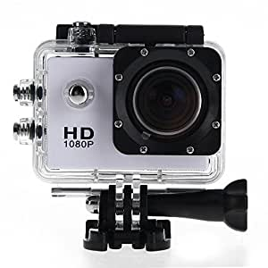 "SJ4000 Caméra Appareil Photo Vidéo 12MP 1.5"" 1080P FHD 170° Étanche Sport Blanc"