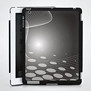 Tablette Case étui Coque pour Apple iPad 2 HardCase black - Black Sphere