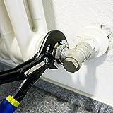 S&R Wasserpumpenzange mit Schnelleinstellung-Mechanismus 240x30mm, CR-V, doppelt ummantelte Griffe -