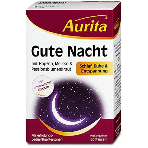 Aurita Gute Nacht 60 Kapseln, 1er Pack (1 x 14 g)