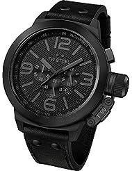 TW Steel Herren-Armbanduhr Canteen Style Cool Black TW-821