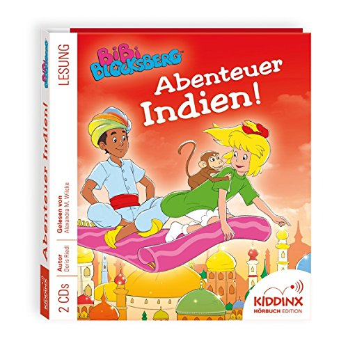 Bibi Blocksberg Hörbuch - Abenteuer Indien
