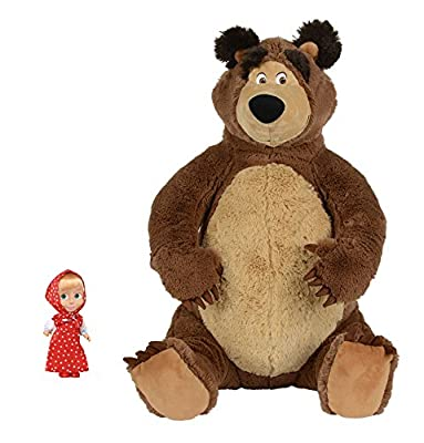 Puppe Mascha und der Plüsch Bär Masha and the Bear Misha Set Masha i Medved