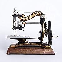 Ludage Accesorios para el hogar artesanías, Modelo de máquina de Coser Vintage Vintage Muebles Adornos
