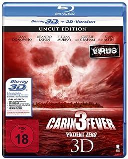 Cabin Fever 3 - Patient Zero (Uncut) [3D Blu-ray + 2D Version]