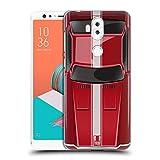Head Case Designs Speed Rot Klassische Automobile Ruckseite Hülle für ASUS Zenfone 5 Lite ZC600KL