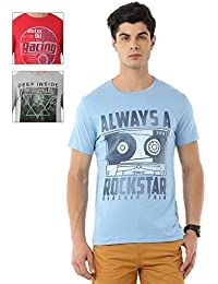 Pack Of 3 Printed T-shirts By Classic Polo