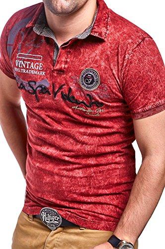 MT Styles Poloshirt SP-MUNDO T-Shirt R-2984 Rot