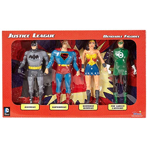 NJ Croce Justice League Bendable Boxed Set