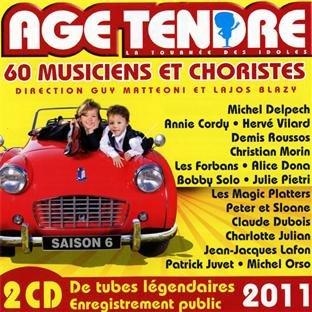 Dvd Delpech - Age Tendre La Tournee Des Idoles