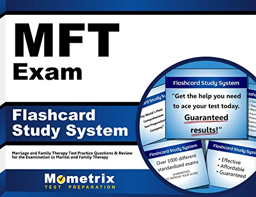 Mft Exam Flashcard Study System Marriage And Family Therapy Test Practice Questions Review For The Examination