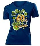60er Jahre Kostüm Kleidung 791 Damen T-Shirt Frauen Karneval Fasching Faschingskostüm Karnevalskostüm Paarkostüm Gruppenkostüm Navy XL