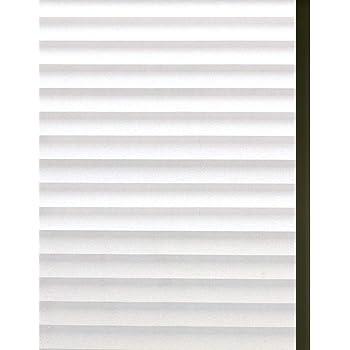 Zindoo Streifen Blickdicht Fensterfolie Sichtschutzfolie Statische