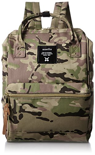 anello #AT-B0197B small backpack with side pockets camo kahki