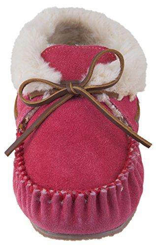 Minnetonka Chrissy Bootie Damen Pantoffeln Rosa