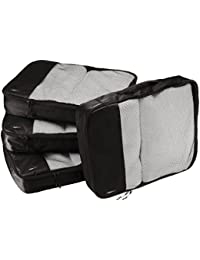AmazonBasics Packing Cubes/Travel Pouch/Travel Organizer- Large
