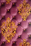 #3: Vonzo Maroon Designer Luxury 3D Wallpaper For Living Room And Restaurant(Wall Cover Area 57 sqft)