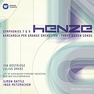 Sinfonien 7 & 9 /Barcarola