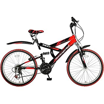 Hero Next 24T 18 Speed Mountain Cycle (Red/Black)