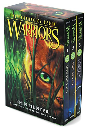 Warriors Box Set: Volumes 1 to 3: Into the Wild, Fire and Ice, Forest of Secrets