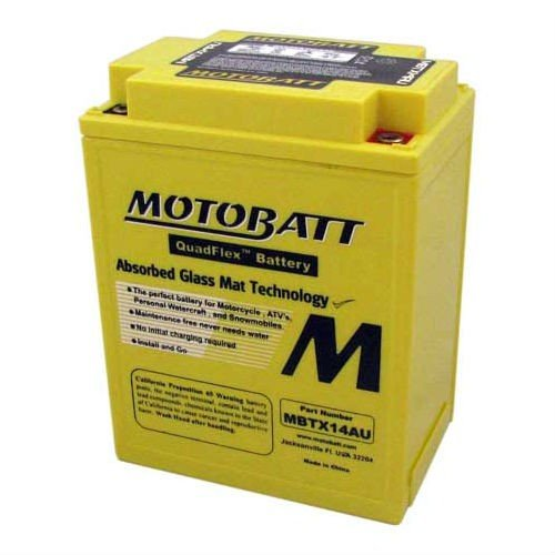 Batteria MOTOBATT MBTX14AU